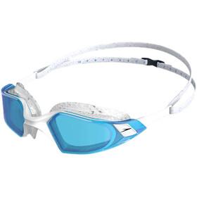 speedo Aquapulse Pro Occhialini da nuoto, grigio/blu